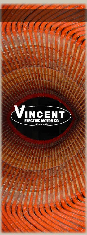 Drives and New Motor Sales - Vincent Electric Motor Company Since
